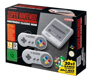 Nintendo Classic Mini: Super Entertainment System Gris | Dodax.fr