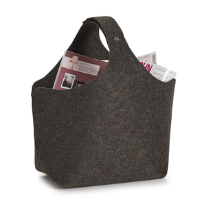 Zeller Present 14371 Anthracite Tote bag shopping bag | Dodax.com