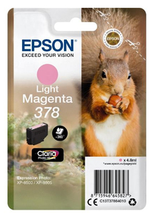 Epson 378 4.8ml 360pages Light magenta ink cartridge | Dodax.ca