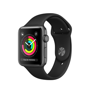 Apple Watch Series 3 OLED GPS (satellite) Grey smartwatch | Dodax.co.uk