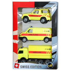 Image of Swiss-Ambulanzset 3-teilig