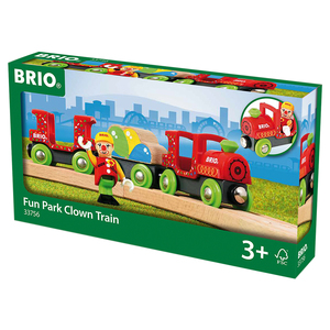 Image of Brio - Fun Park Clown Train (33756)