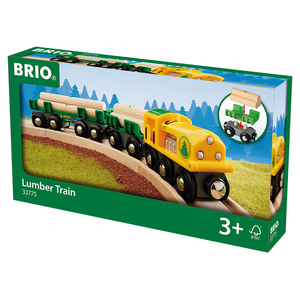 Image of BRIO Lumber Train
