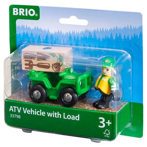 Image of BRIO ATV with Load