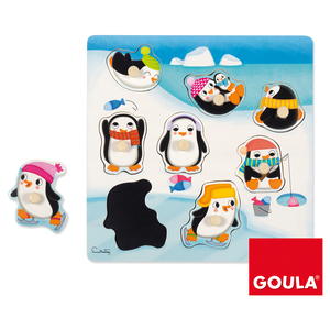 Puzzle Silhouette Pinguin | Dodax.at