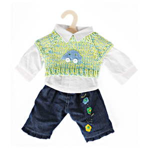 Jeans-Set Puppen 35-45 cm | Dodax.at