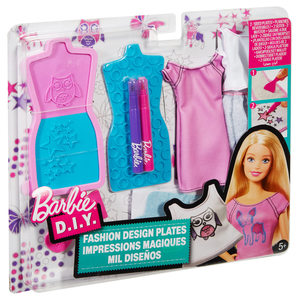 Barbie Mode-Muster Set | Dodax.ch