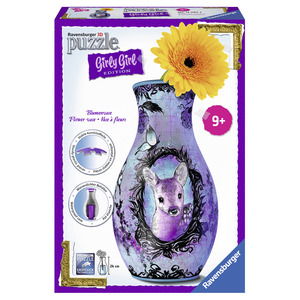 Girly Girl Edition Blumenvase - Animal Trend (Kinderpuzzle) | Dodax.ch