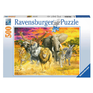 Puzzle Afrikan. Tiere | Dodax.co.jp