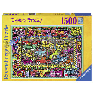 James Rizzi, We're on our way to your Party (Puzzle) | Dodax.ch