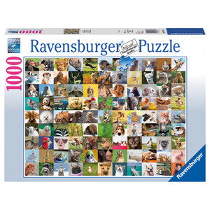 Puzzle 99 lustige Tiere | Dodax.at