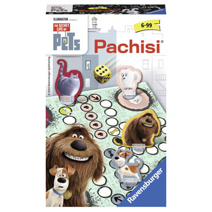 Ravensburger The Secret Life of Pets Pachisi Children Race board game | Dodax.ca