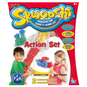 Image of Knete Skwooshi Action Set