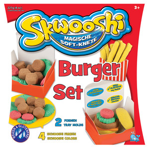 Image of Knete Skwooshi Burger Set