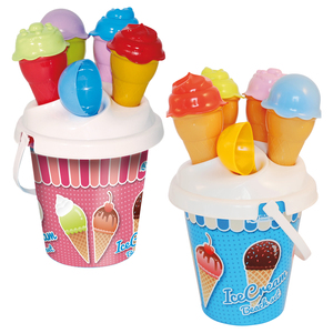 Image of Eiscreme-Set mit Eimer