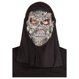 Mask Silver Scull | Dodax.co.uk