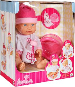 Image of Amia Drinking and Peeing Doll, 38 cm