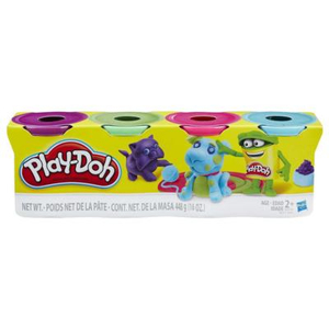 Play-Doh - Four-Pack Of Bold Colors (B6510) | Dodax.nl