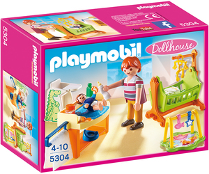 Playmobil Dollhouse Baby Room with Cradle | Dodax.co.uk