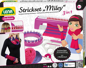 LENA® Strickset Miley 3-in-1 42004 | Dodax.ch