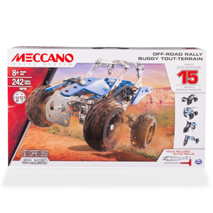 Meccano 15-Multimodell Off Road Rally 242 Teile 6028580/16210 | Dodax.co.uk