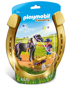 Playmobil - Playmobil Country Pony Stella (6970) | Dodax.co.uk