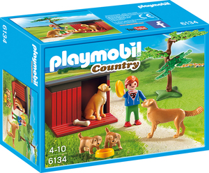 Playmobil Country Golden Retrievers with Toy | Dodax.co.uk