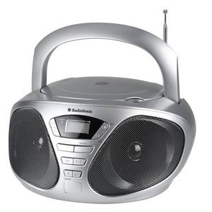 AudioSonic CD-1569 CD-Radio, silber | Dodax.ch