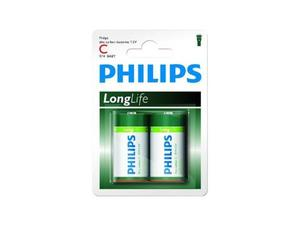 Batterie Philips Longlife R14 Baby C (2 St.) | Dodax.ch