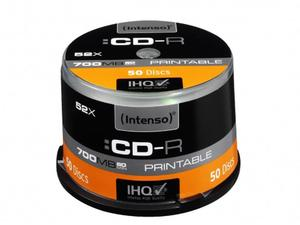 Intenso CD-R 700MB / 80min printable | Dodax.at