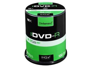 Intenso DVD-R 4.7GB 4.7GB DVD-R 100Stück(e) | Dodax.at