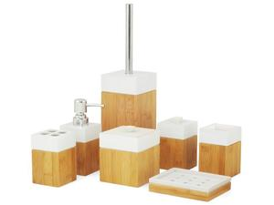 MK Bamboo PARIS - Bambus Bad Accessoire Set (7-teilig) | Dodax.at