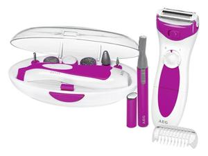 Image of AEG Lady Beauty Set LBS 5676 weiß-pink