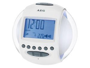 AEG Uhrenradio MRC 4117 weiß | Dodax.co.uk