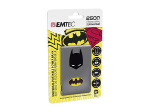 EMTEC Power Bank 2500mAh Justice League (Superman) | Dodax.com