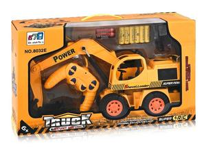 RC Bagger Truck Stunt and Light 5-Kanal (orange) - 8032E | Dodax.es