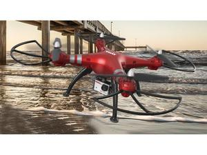 Quad-Copter SYMA X8HG 2.4G 4-Kanal mit Gyro + 8MP Kamera (Rot) | Dodax.at
