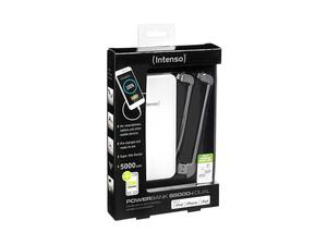 Intenso Powerbank S5000-i Dual USB+Apple 5000mAh (weiß) | Dodax.at