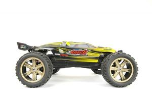 RC Truggy V2 Super Excited Racer Monster Truck 1:12 2.4Ghz (gelb) | Dodax.nl