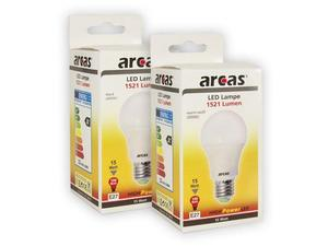 Arcas LED Sparlampe 15 Watt (=100W) Weiss 4000K E27 (1521 Lumen) | Dodax.at