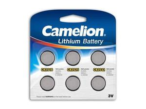 Batterie Camelion Lithium Mix Set CR2016, CR2025, CR2032 (6 St.) | Dodax.ch