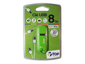 USB FlashDrive 8GB Top Office ColorKey - Grün | Dodax.ch