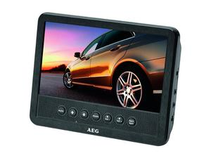AEG DVD Car Cinema 7 Zoll DVD 4555 Schwarz | Dodax.it