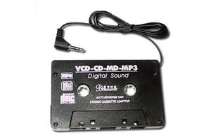 MP3/CD Kassetten-Adapter / Cassette Adaptor | Dodax.com
