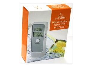 Alkoholtester LCD / Digital Alcohol Tester with Clock (6389) | Dodax.ca