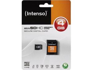Intenso Secure Digital Card SDHC 4096MB 4GB SD Speicherkarte | Dodax.at