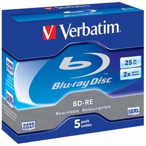 Verbatim BD-RE 2x Single Lay. rewrite, 25GB | Dodax.at