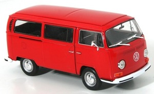Welly VW Bus T2 1972 rot 1:24 | Dodax.com