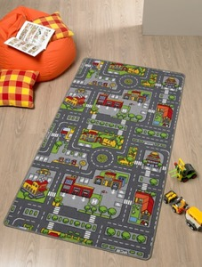Spielteppich City 80x120cm | Dodax.at
