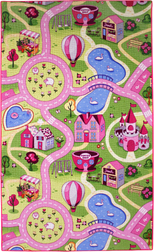 Sweet Town Teppich 100x165cm | Dodax.at